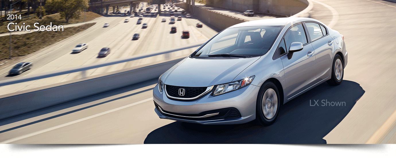 used 2014 Honda Civic Sedan Banner