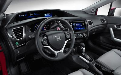 Used 2014 Honda Civic Coupe dash
