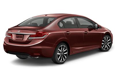 Used 2014 Honda Civic Sedan red
