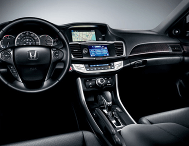 used 2014 Honda Accord Sedan interior