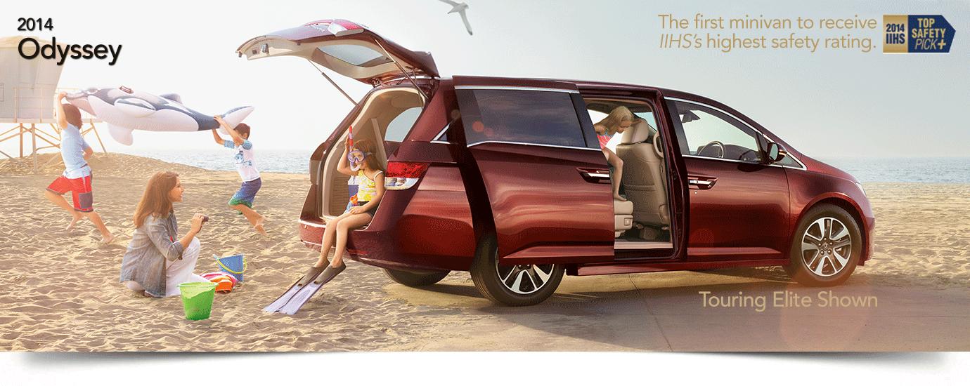 Used 2014 Honda Odyssey Banner
