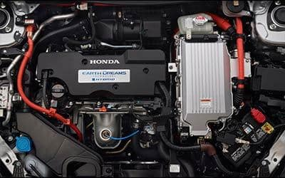 used 2015 Honda Accord Hybrid engine