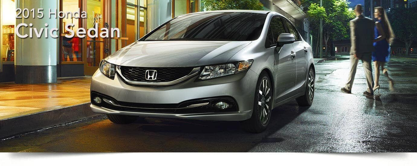 used 2015 Honda Civic Sedan banner
