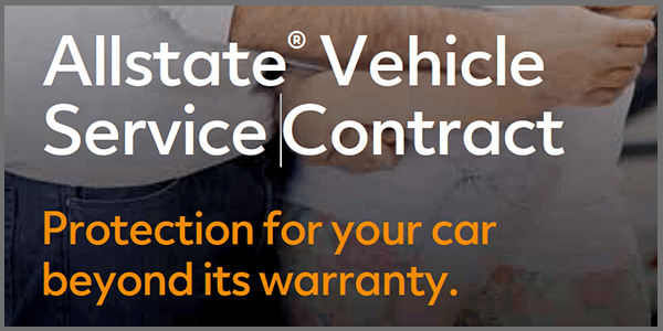 Allstate Vehicle service contract