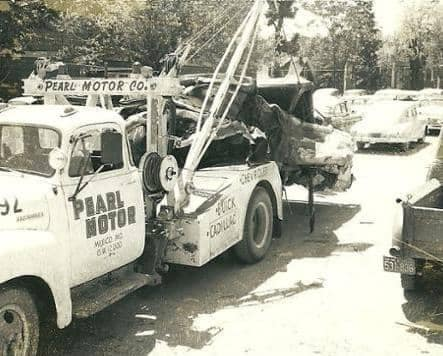 a towing truck