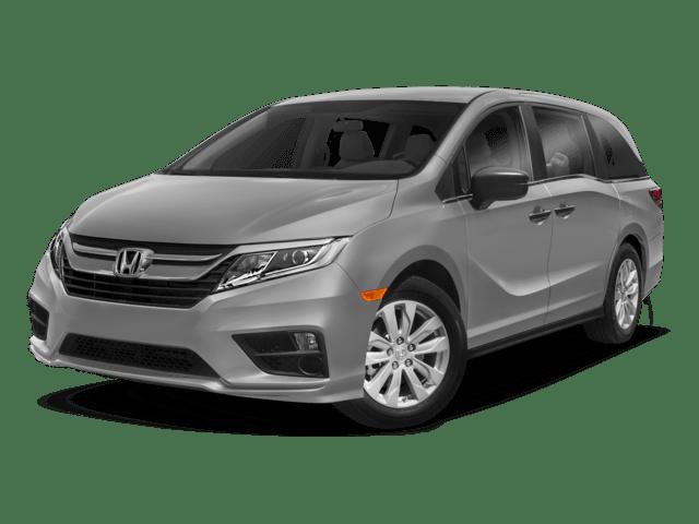 2018 Honda Odyssey angled