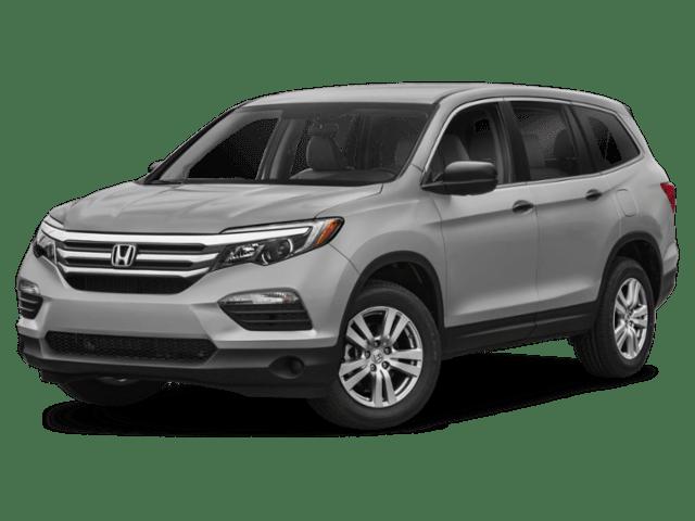 2018 Honda Pilot angled\