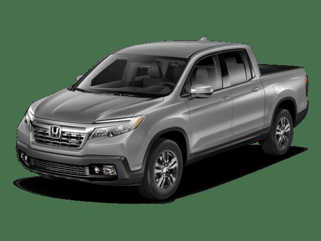 2018 Honda Ridgeline angled
