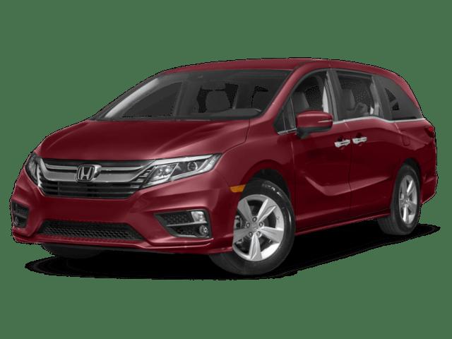 2019 Honda Odyssey angled