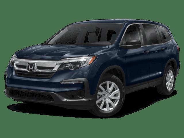 2019 Honda Pilot angled