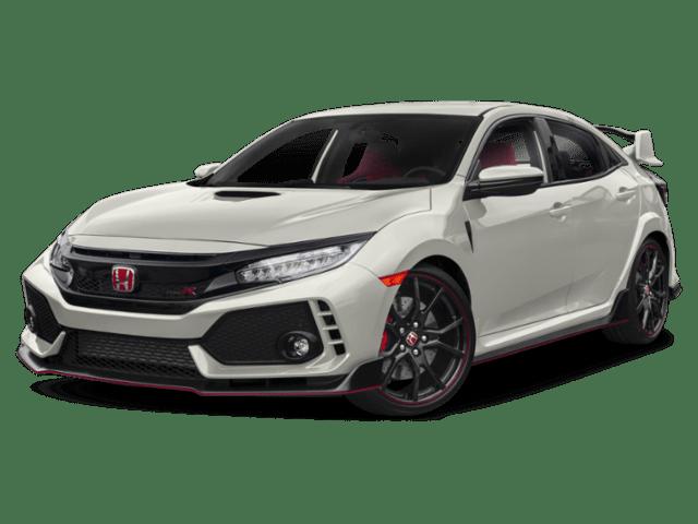 Honda Civic Type R angled