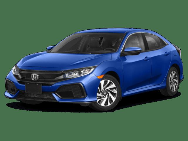 Honda Civic angled