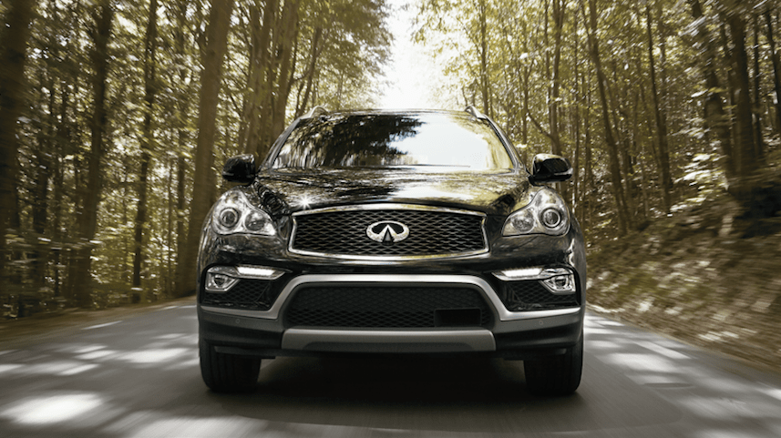 INFINITI vehicle driving