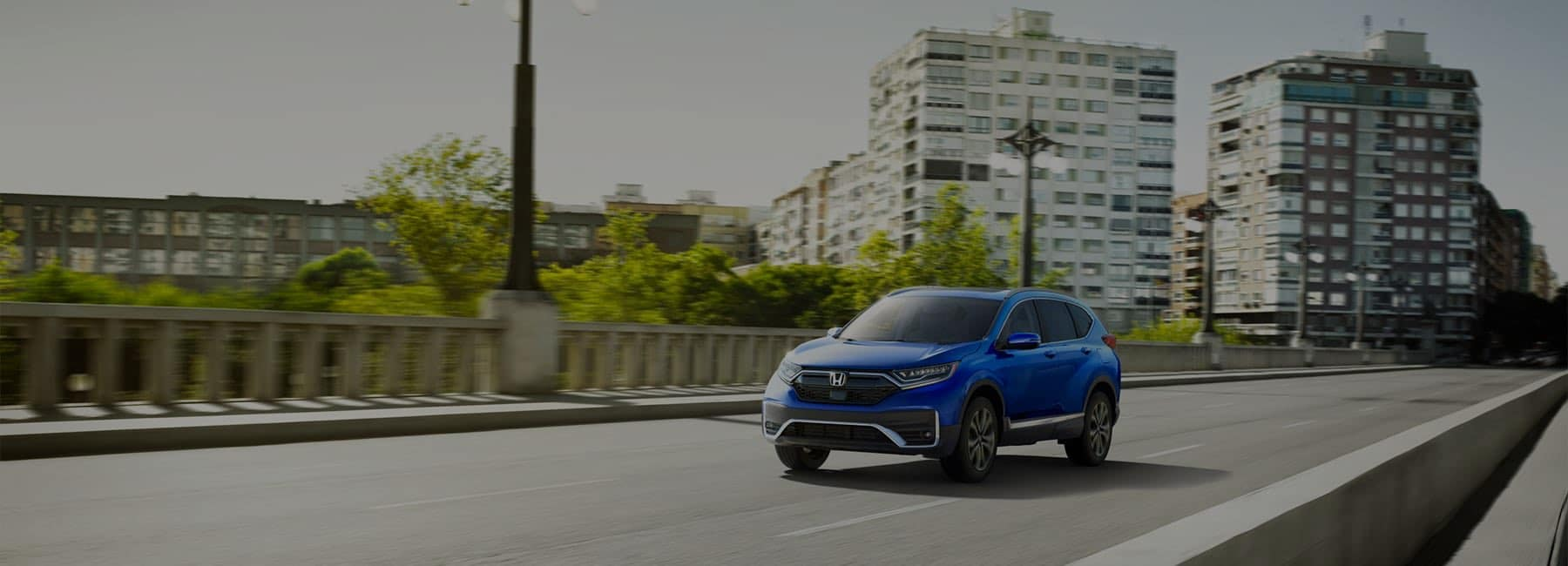 2020 Honda CR-V driving bridge