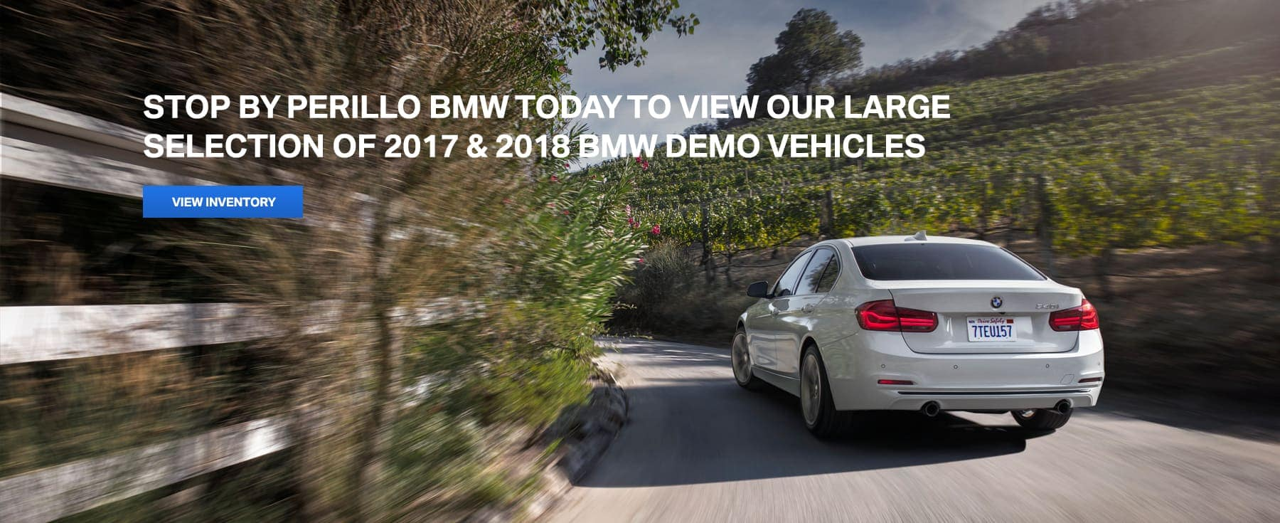 2017 & 2018 BMW Demo Vehicles