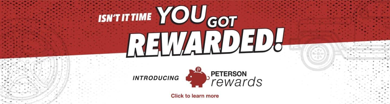 You Got Rewarded