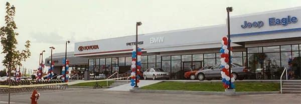 Front of dealership