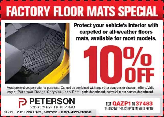Factory Floor Mats Special