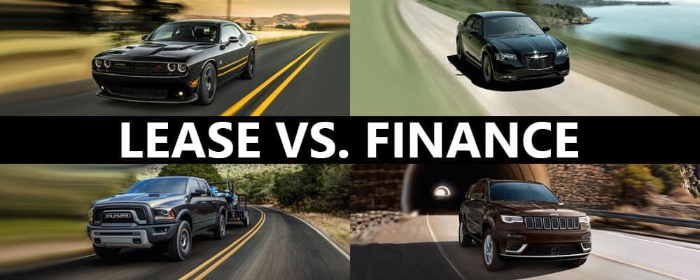 Lease vs Finance CDJR