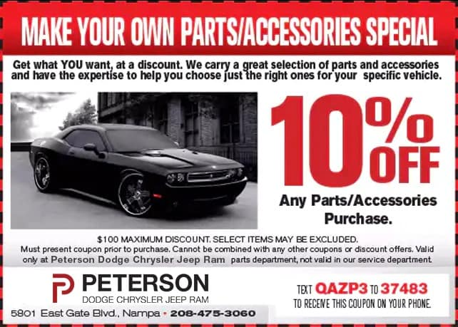 Make Your Own Parts:Accessories Special