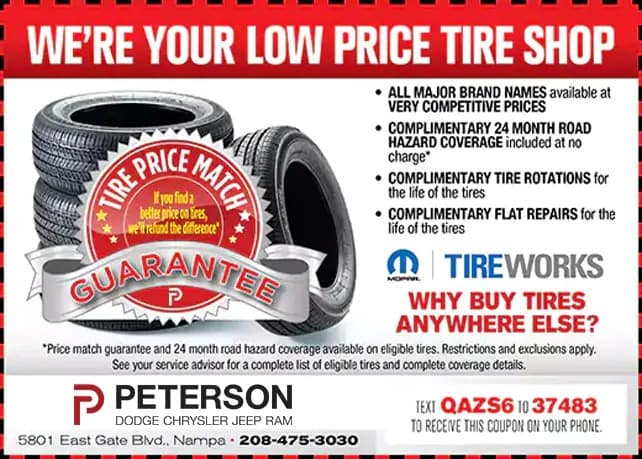 Low Price Tire Shop Coupon