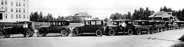 Old car models