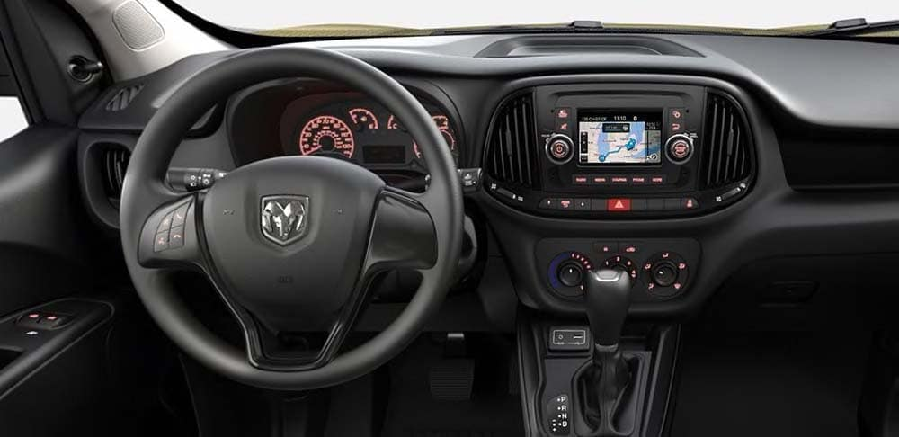 2019-Ram Promaster City interior