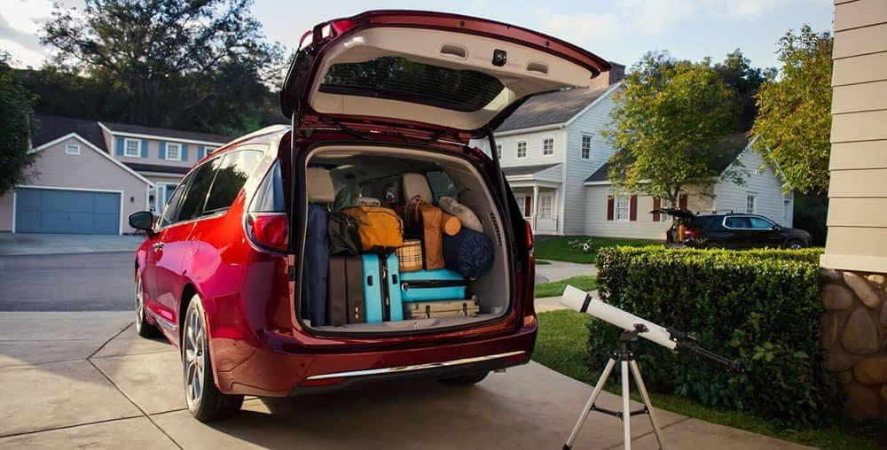 2019-chrysler pacifica cargo space