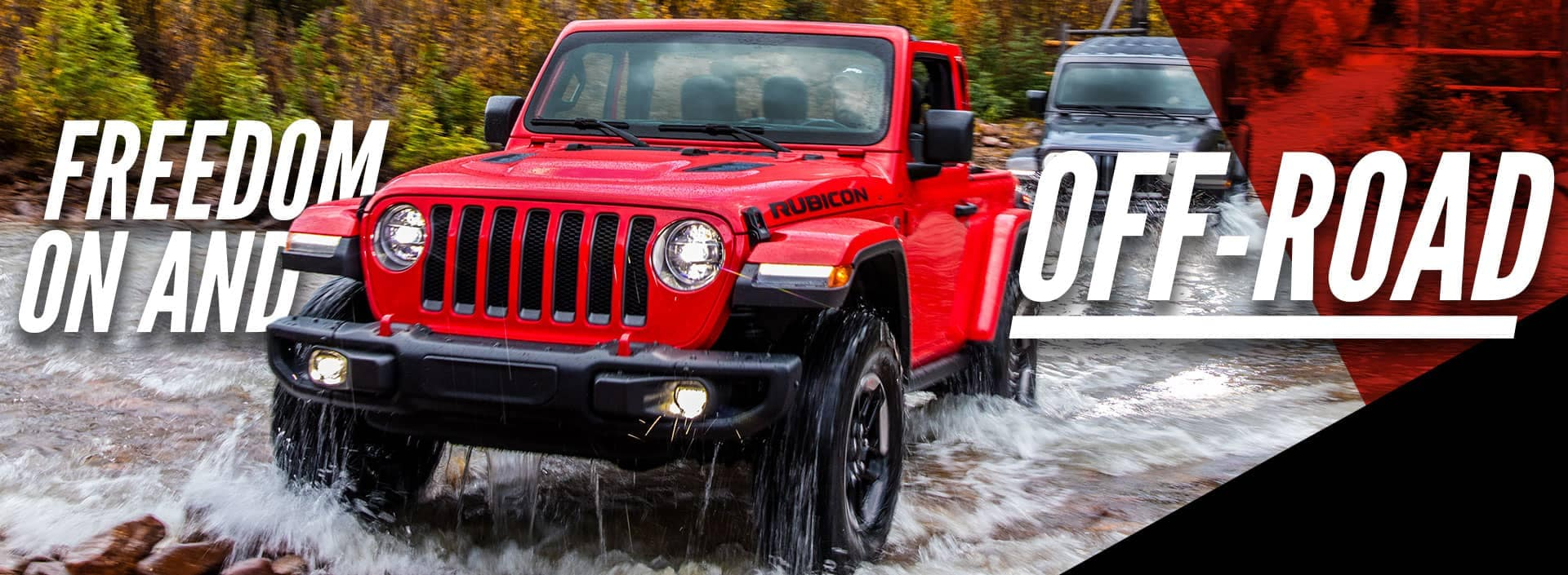 Jeep Off Roading banner
