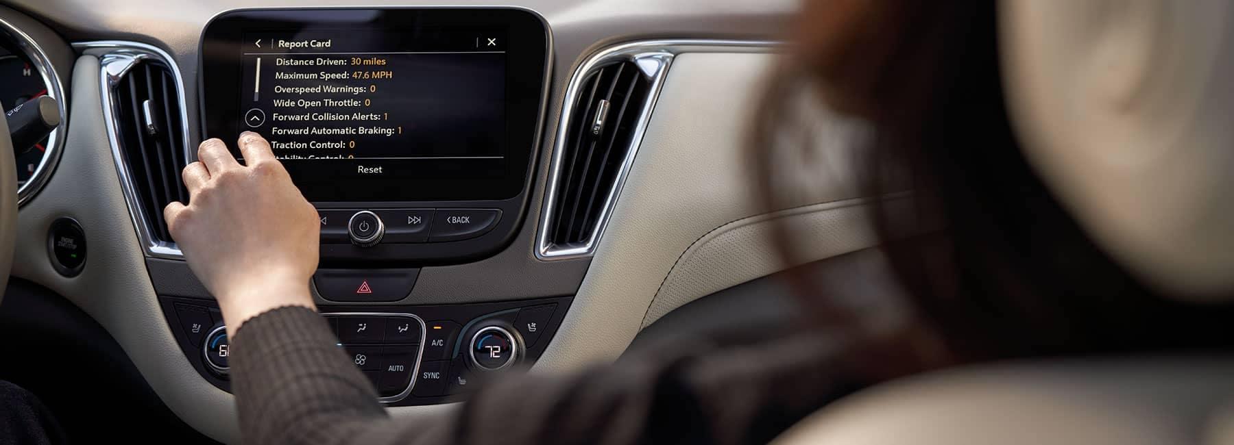 2019 Chevrolet  interior dash