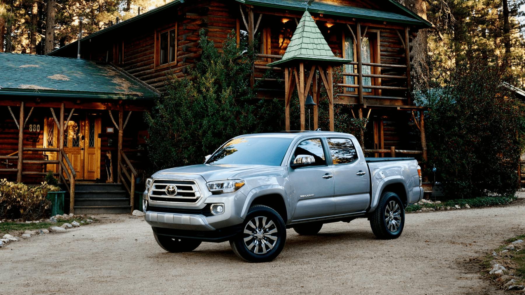 2020 Toyota Tacoma parked