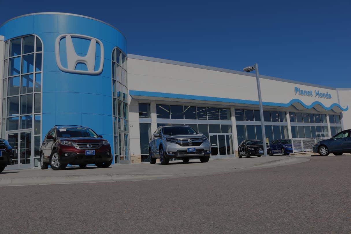 Planet Honda Honda Dealer In Golden Co