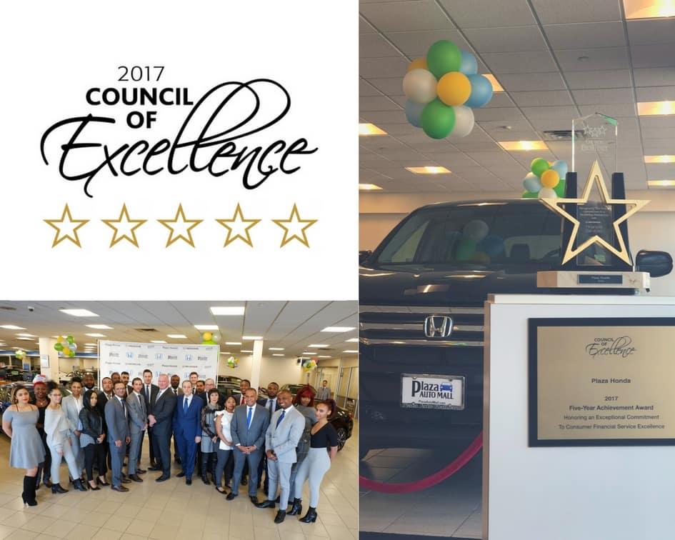 Council Of Excellence Award