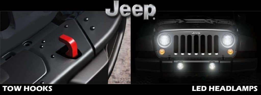 Tow Hooks & LED Headlamps