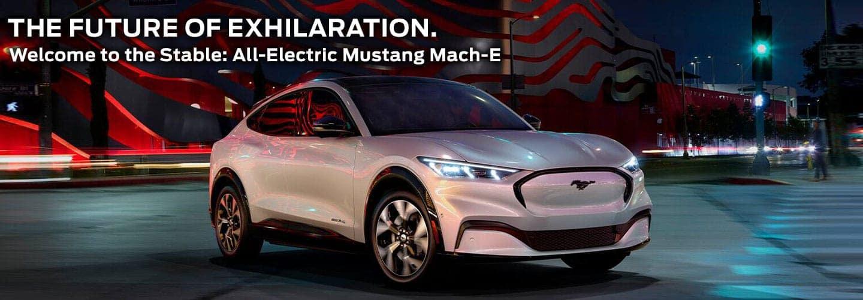 Mach E Mustang