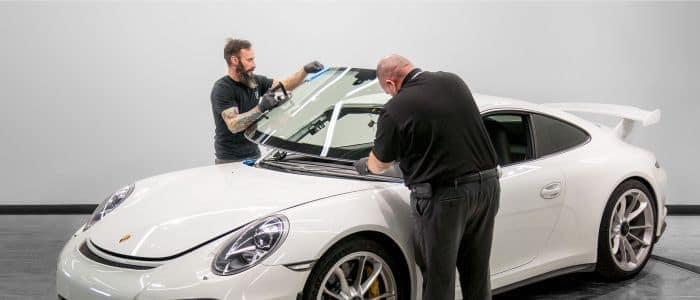 Porsche Auto Glass