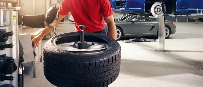 Porsche Approved Tires & Alignment