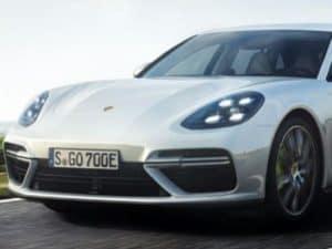 New 2018 Porsche Panamera Turbo S E-Hybrid Sport Turismo