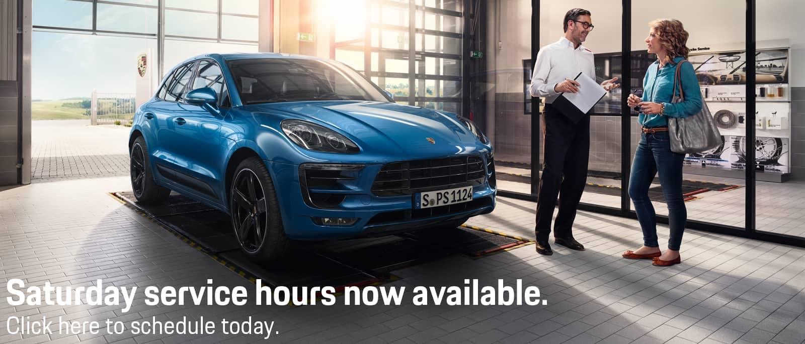 Porsche-Saturday-Service