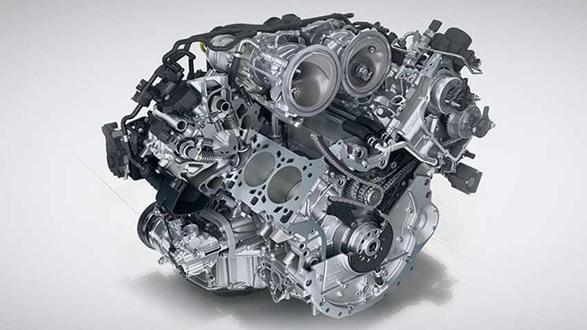 Panamera Engine