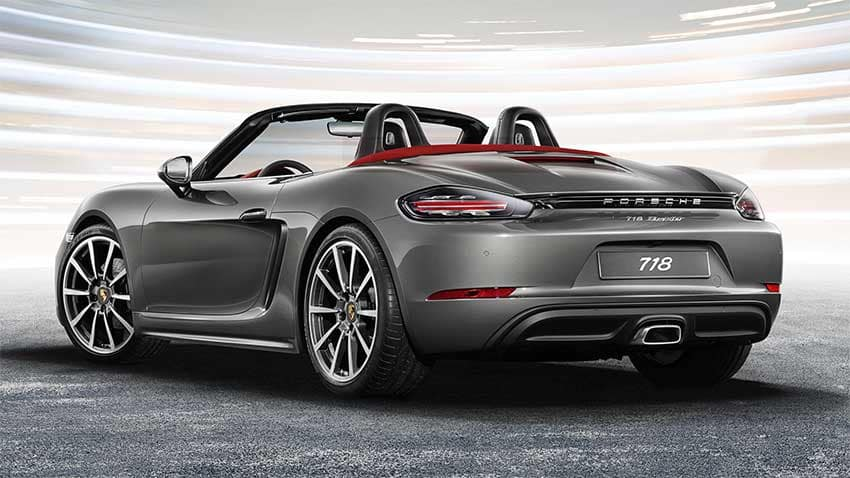 Porsche 718 Boxster Performance