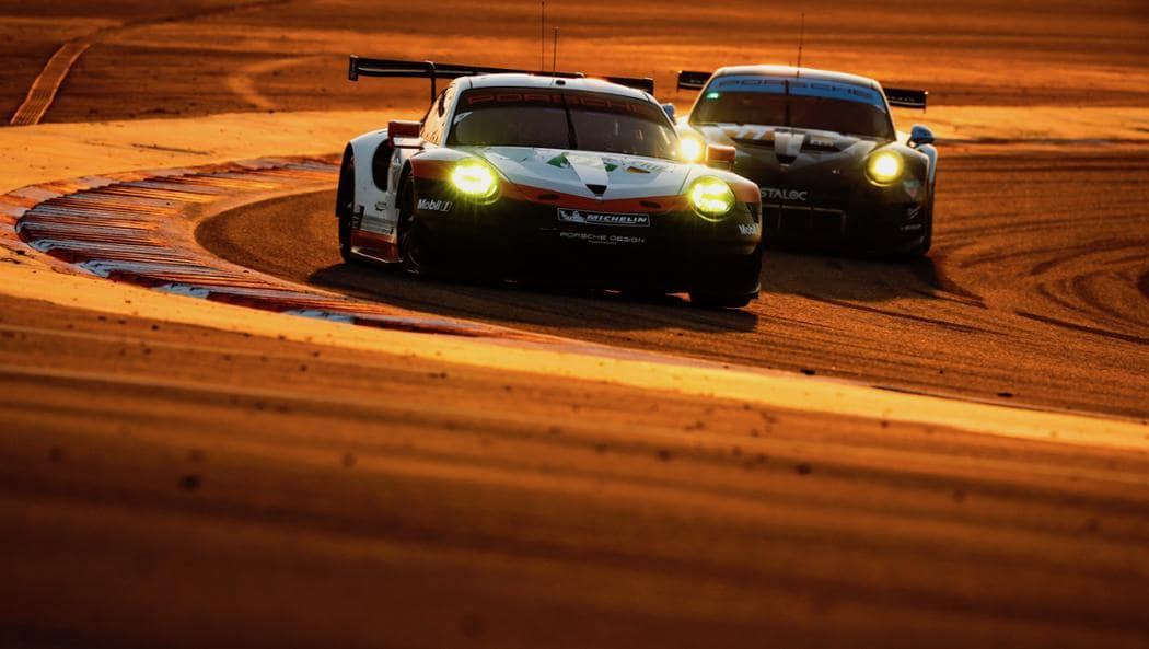 Porsche pilots