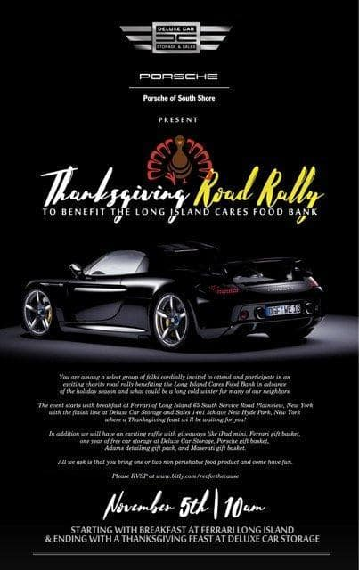 Thanksgiving Exotic Car Rally