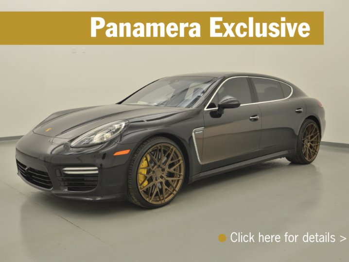 Panamera Exclusive In Stock