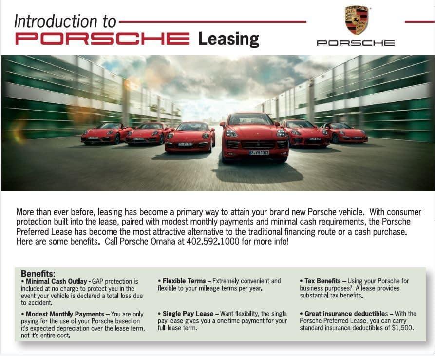 How to Lease a Porsche!