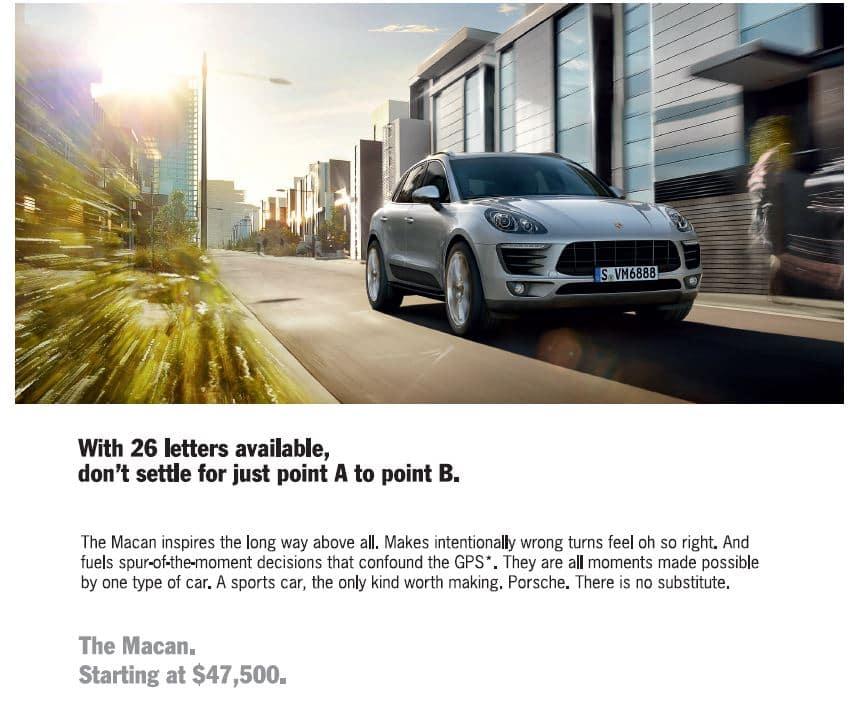 The Porsche Macan