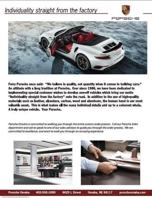 Porsche Individuality