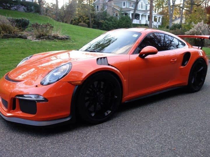 2016 Porsche 911 GT3 RS Orange