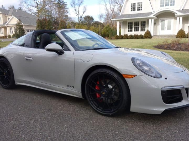 2018 911 Targa GTS in stock