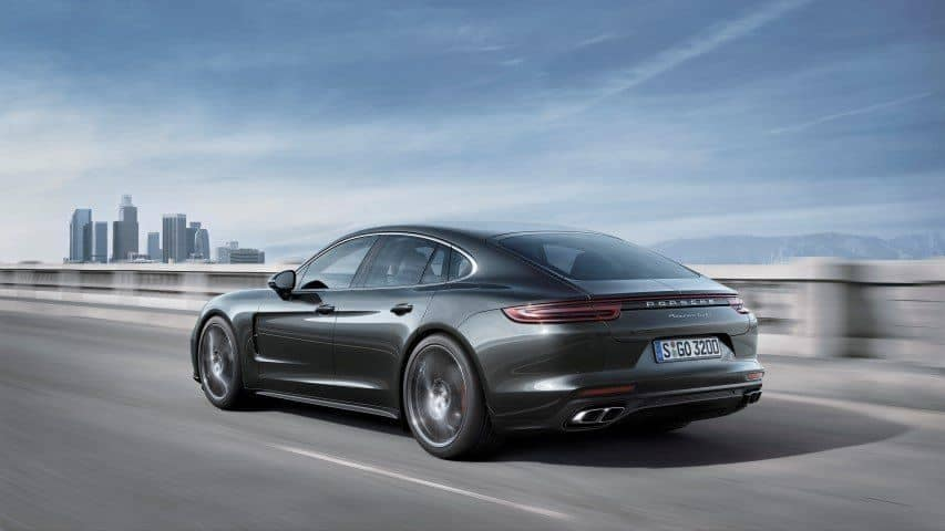 Design Briefing 2017 Porsche Panamera
